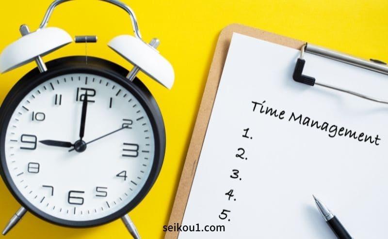 目標達成するための時間管理パッケージ