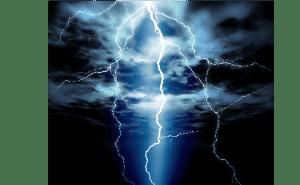 落雷が落ちるように直感にガツーンときます。