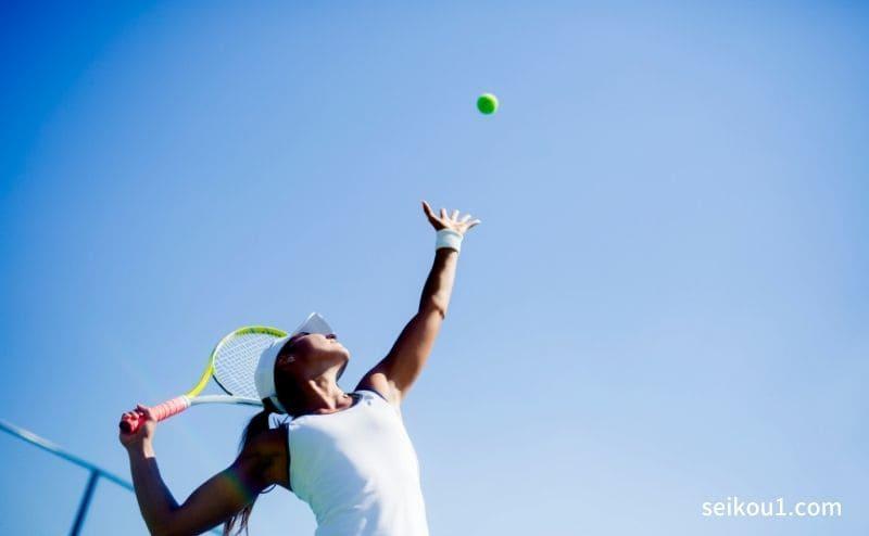 テニスのトレーニングの助け