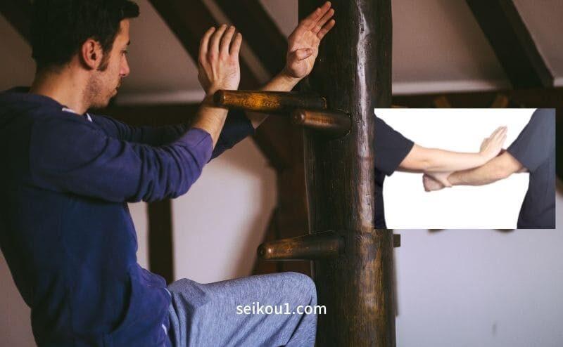 詠春拳トレーニングの助け